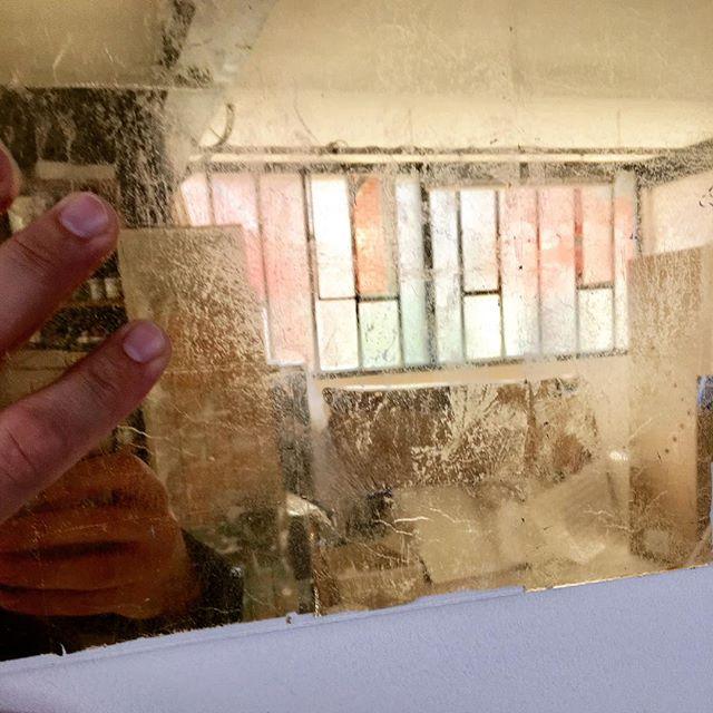 Verre eglomisé/eglomise glass