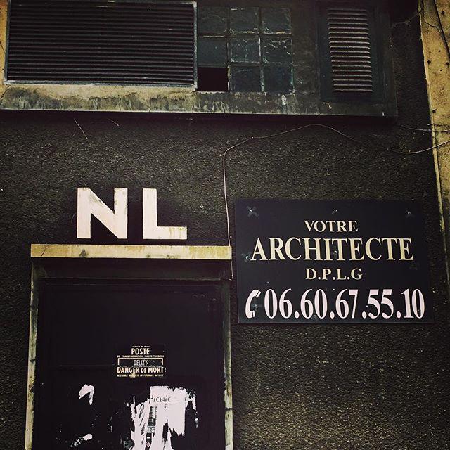 Architecte, style brutal !!