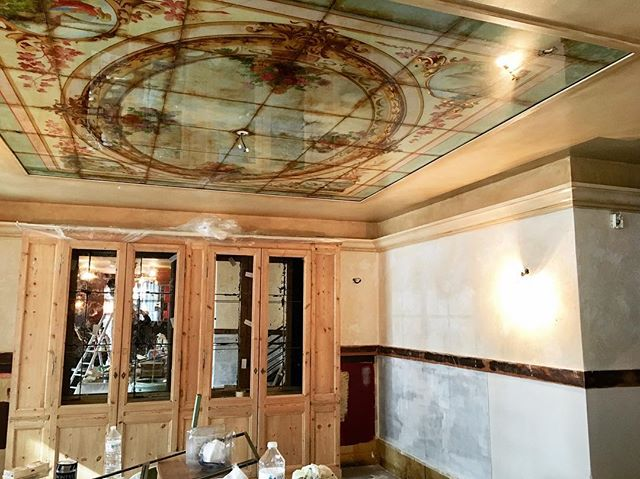 Café Bastille – work in progress